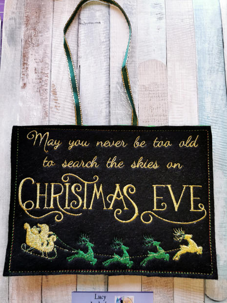 Christmas Eve Plaque