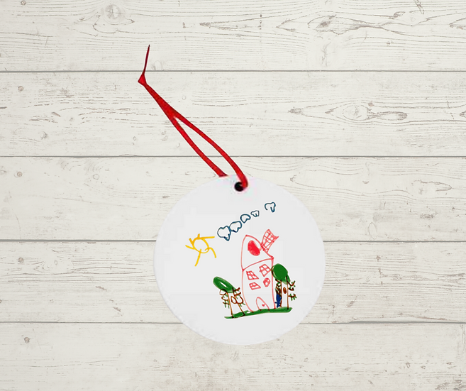 Childs Drawing Decoration