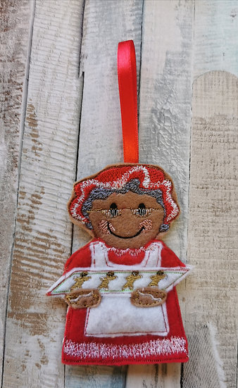 Mrs Claus Mrs Christmas Gingerbread