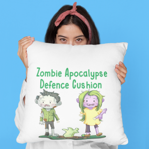 Zombie Apocalypse Defence Cushion