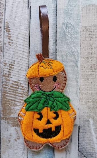 Pumpkin Halloween Gingerbread