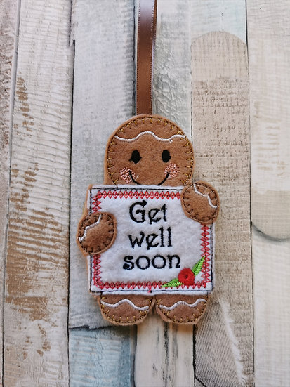 Get Well Soon Gingerbread