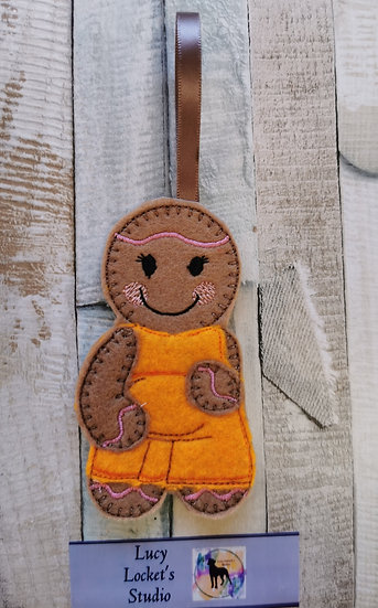 Mum To Be Pregnant Gingerbread
