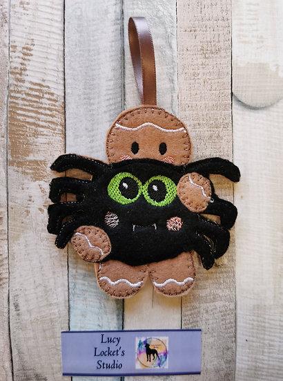 Pet Spider Gingerbread