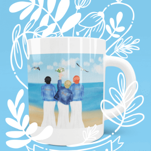 Bride And Bridesmaid mug