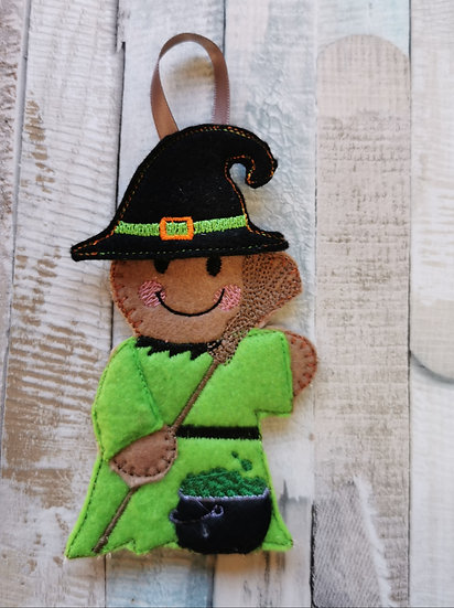 Witch Halloween Gingerbread