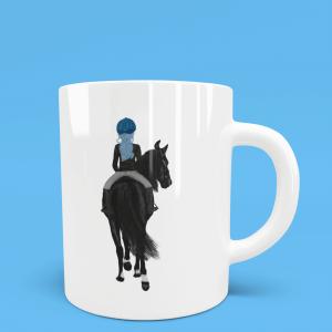 Horse Lover Mug customisable
