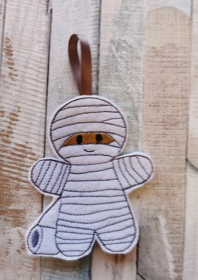 Mummy Halloween Gingerbread