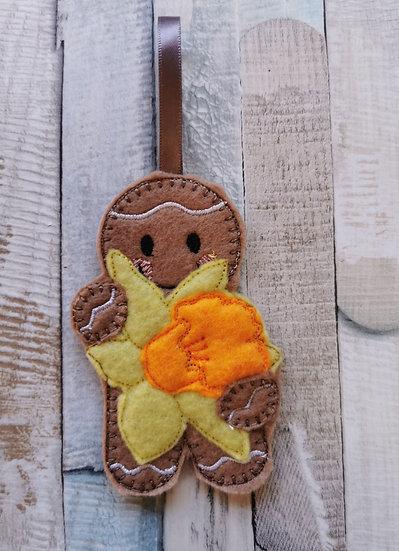 Daffodil Spring Gingerbread