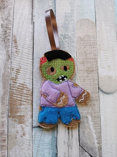 Zombie Walker Gingerbread Halloween