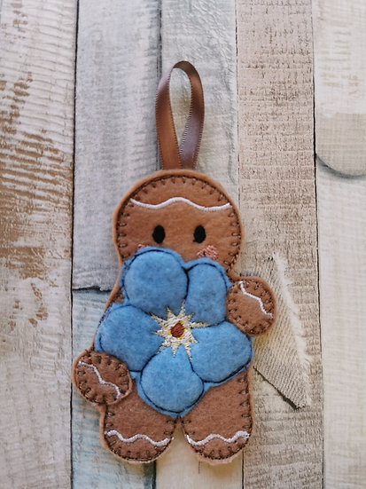Forget Me Not Gingerbread