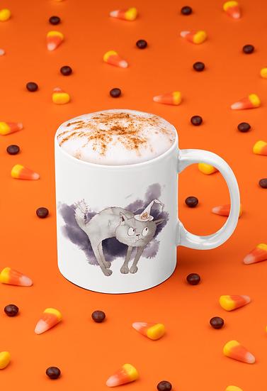 Halloween Cat Mug