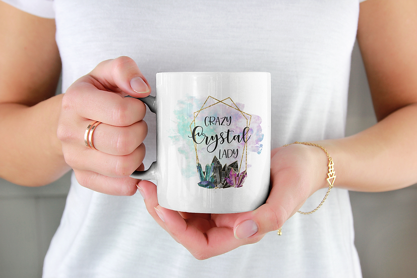 Crazy Crystal Lady Mug