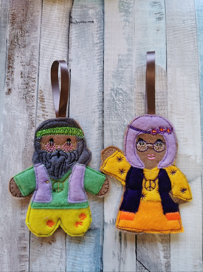 Hippy Man Or Woman Gingerbread