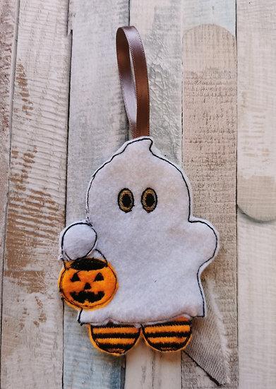 Ghost Halloween Gingerbread