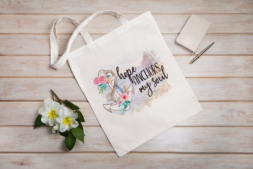 Hope Anchors My Soul Shopper Tote bag