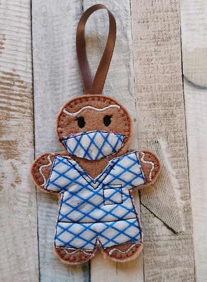 Scrub Nurse Gingerbread