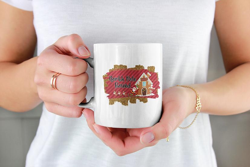 North Pole Bound Mug