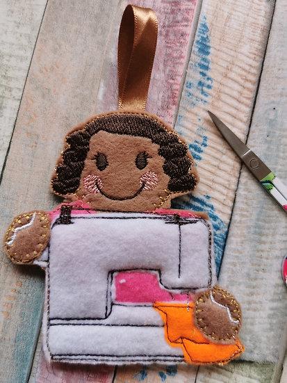 Sewing Machine Gingerbread