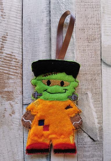 Frankenstein Monster Gingerbread