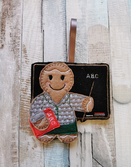 Teacher Gingerbread