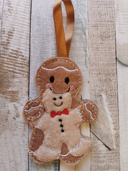 Gingerbread Man Biscuit