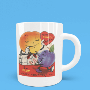 I'm Plum Crazy About you mug.