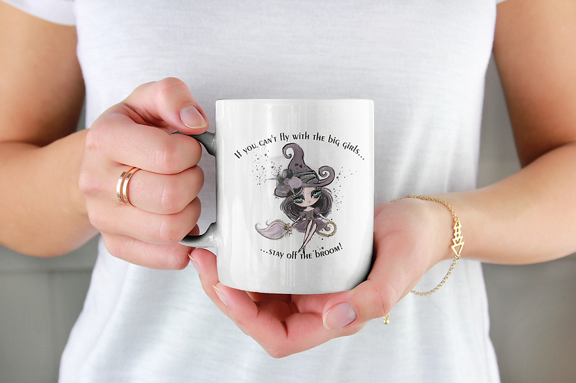 If you cannot fly with the big witches mug