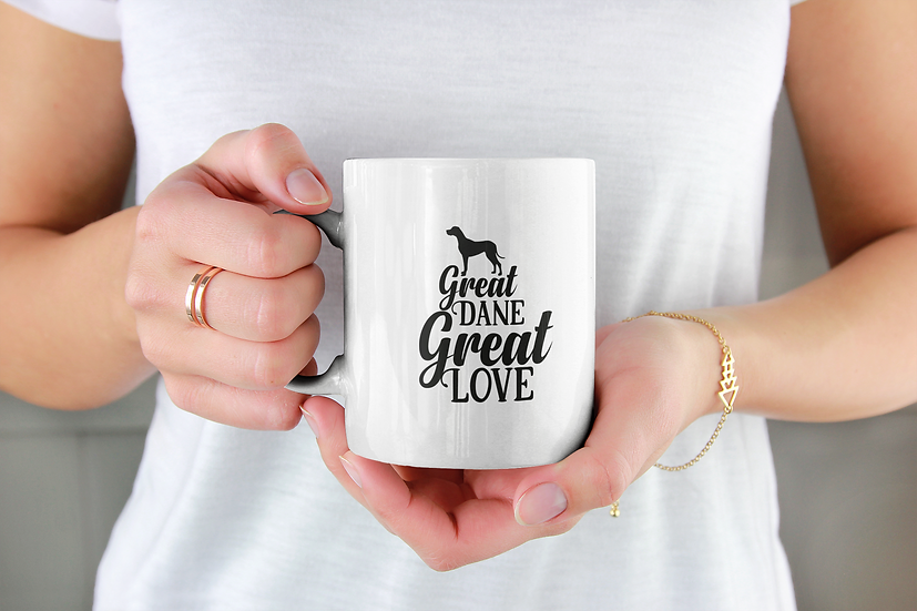 Great Dane Great Love Mug