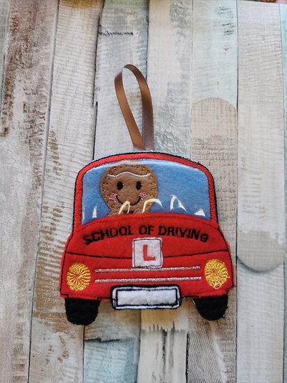 Driving School Learner Driver Gingerbread