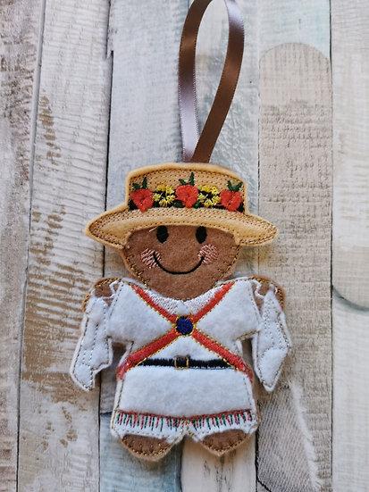 Morris Dancer Gingerbread