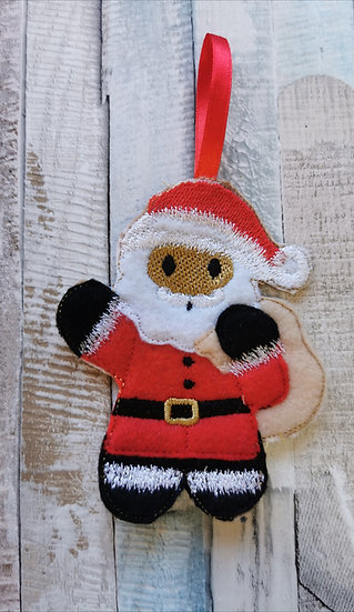 Father Christmas Santa Gingerbread