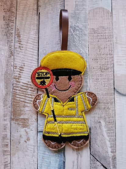 School Crossing Lollipop Gingerbread