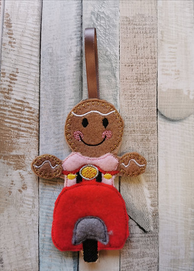 Scooter Gingerbread