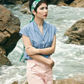 Photographer: Vy Pham Model: Kelsey Akemi Hogan Designer: Rachel Anson