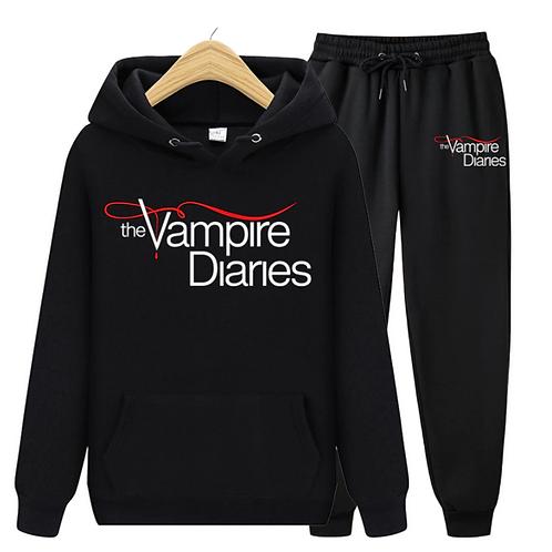 Kit Moletom The Vampire Diaries + Calça (Sob encomenda)