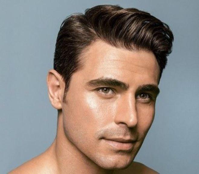 Taglio capelli uomo fila di lato
