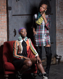 Patterns and Prints!!! Styled by Charity