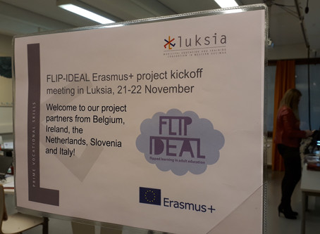 The FLIP-IDEAL project was kicked off in Finland