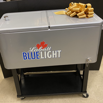 ELEVATED ICE COOLER