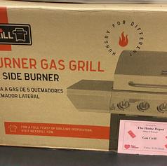 NEXGRILL 5 BURNER GAS GRILL