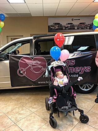 Recipient of Handicap Accesible Van