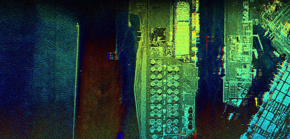 MetaSensing MetaSAR-X image