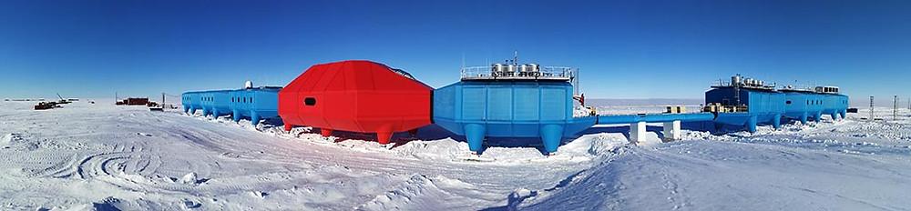 MetaSensing Antarctica Halley VI station