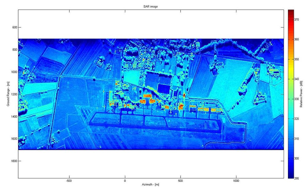 MetaSensing SAR simulator