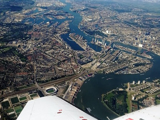 MetaSensing delivers hourly high-resolution X-band airborne SAR images over Rotterdam