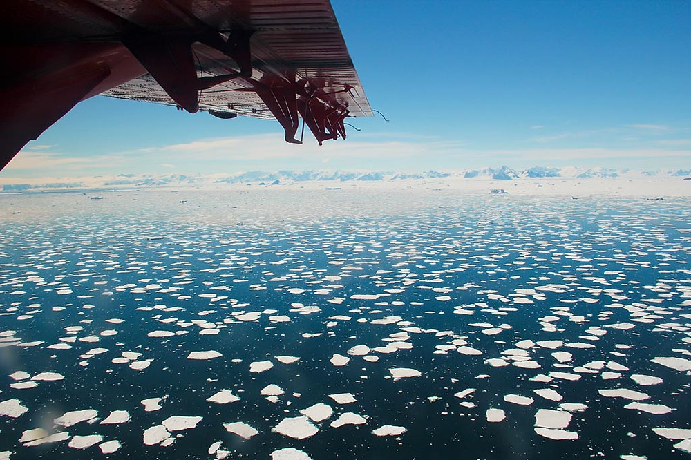 MetaSensing Antarctica wounderful view
