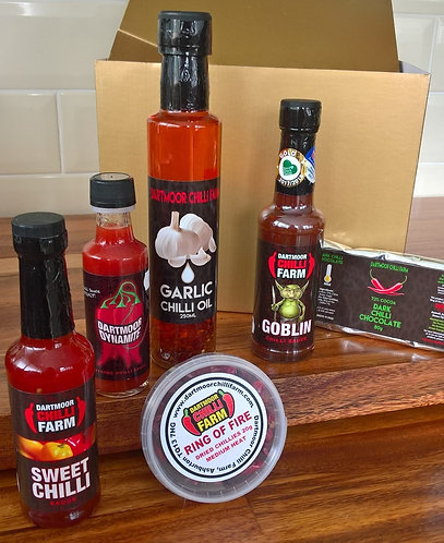 Dartmoor Chilli Farm Variety Hamper
