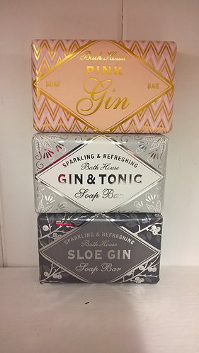 Bath House Soap Bars Gin Collection