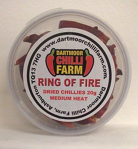 Dartmoor Chilli Farm Ring of Fire